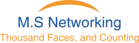 M.S. Networking Logo